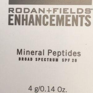 New Rodan Fields Enhancements Mineral Peptides MED